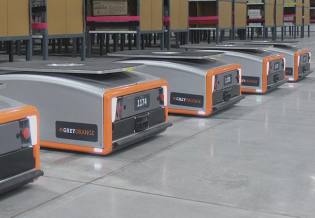 Tinuku Grey Orange robotic warehouse raised $140 million in Series-C