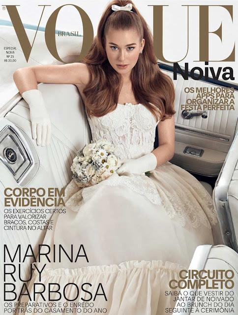 Marina Rui Barbosa na Vogue Noivas