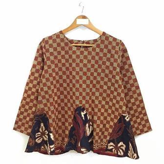 Blouse Batik Modis Dan Modern