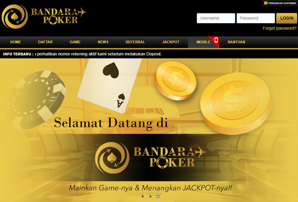 BandaraPoker Situs Poker Dewa Terbaru