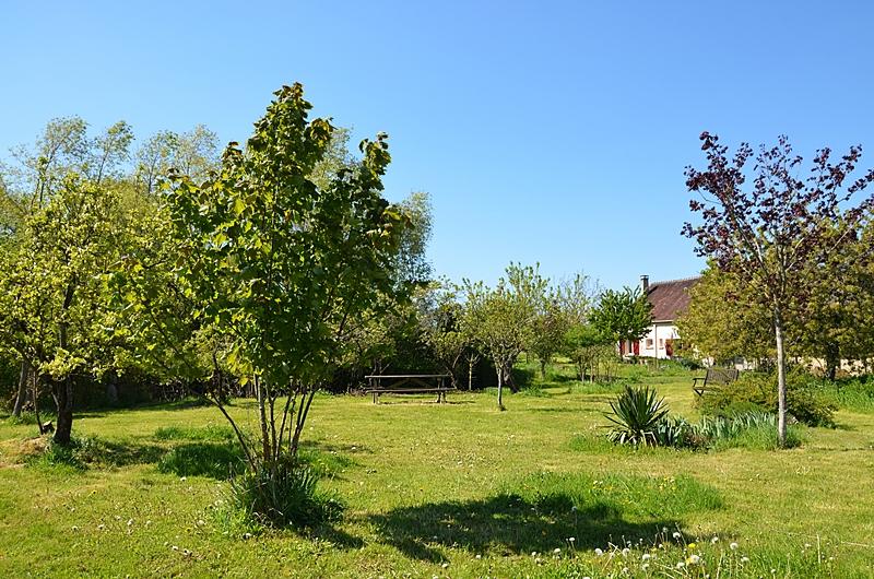 Le jardin des Paillots - Gîte rural dans l'Yonne