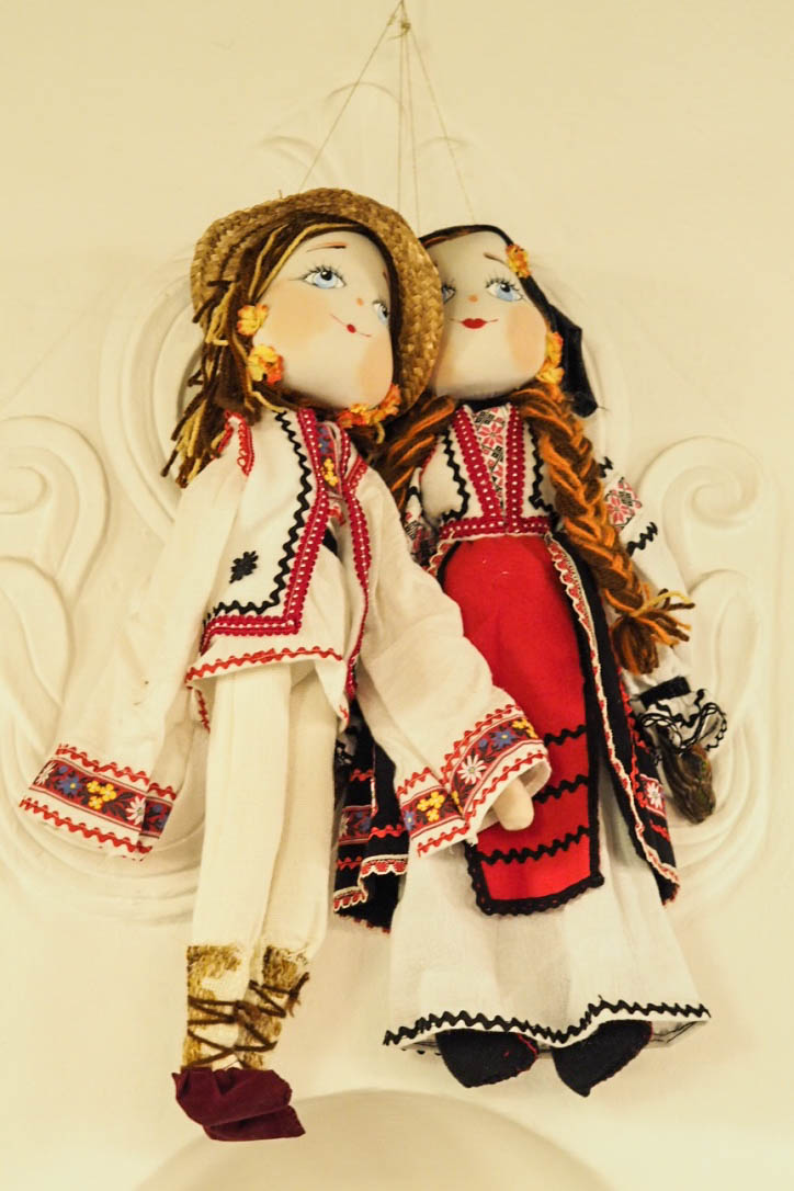 Traditional Romanian dolls