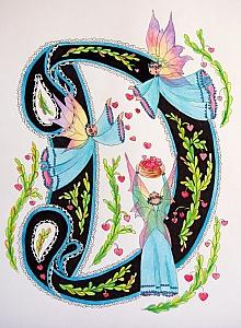Letras con Hadas. Fairy Letters.