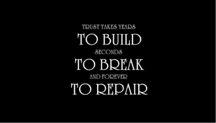 How to build broken trust