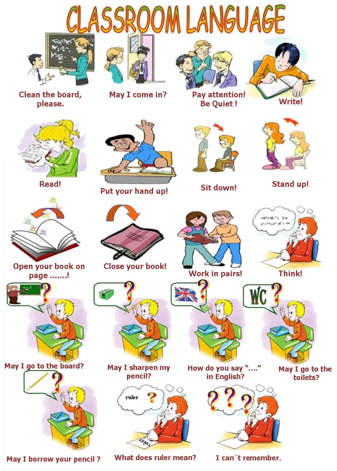 You English Student Classroom English