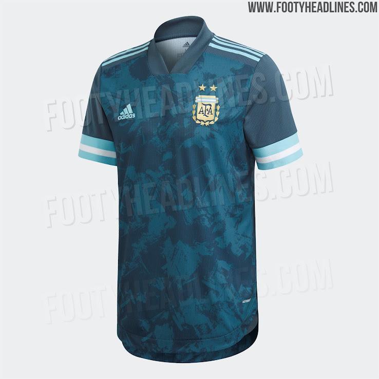 Argentina 2020 Copa America Away Kit 1 | Áo Bóng Đá Sum Store