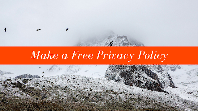 How To Create Privacy Policy Disclaimer Pages On Your Website 2019
