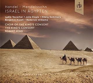 Handel/Mendelssohn Israel in Egypt - Robert King - Vivat