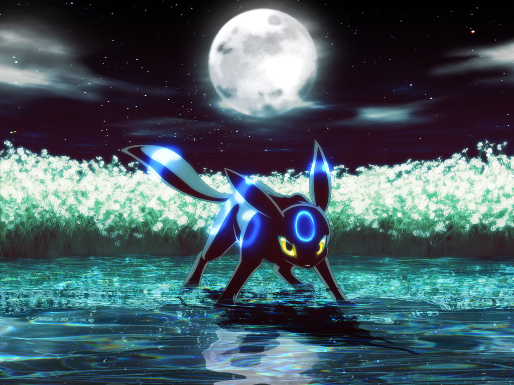 Shiny Umbreon Has Blue Rings And Yellow Eyes Instead Of Red I Think Its Very Fancy