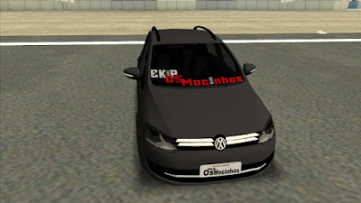 VW SPACE FOX para GTA San Andreas , GTA SA