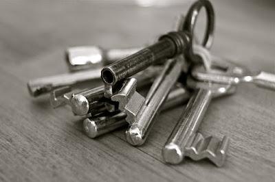 Les clés d'une maison.