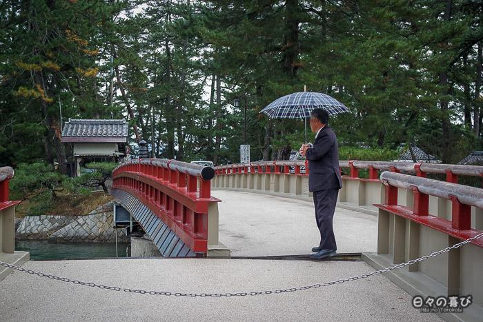 pont mobile, Amanohashidate, Kyoto