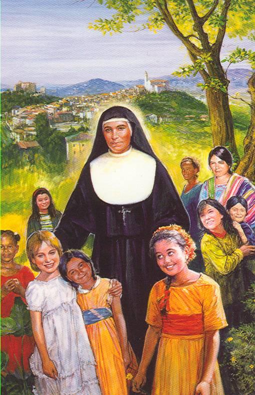Resultado de imagen para santa maria dominga mazzarello