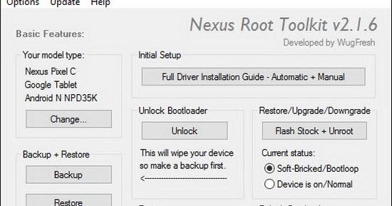 File Download: Download Nexus Root Toolkit 2 1 6