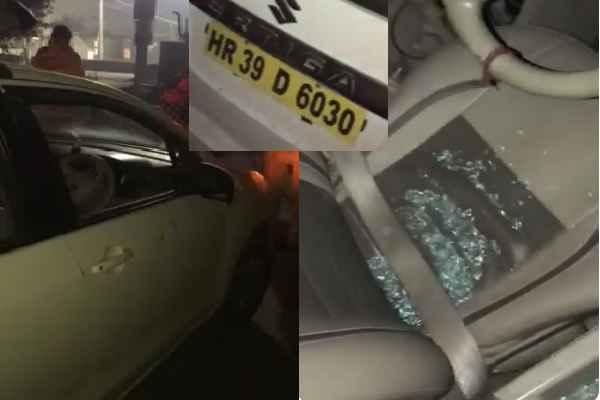 gurugram-kadipur-chowk-loot-ola-cab-driver-beaten-no-help-gurugram-police