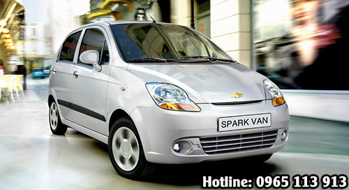 Spark Van - Bạc hai phong