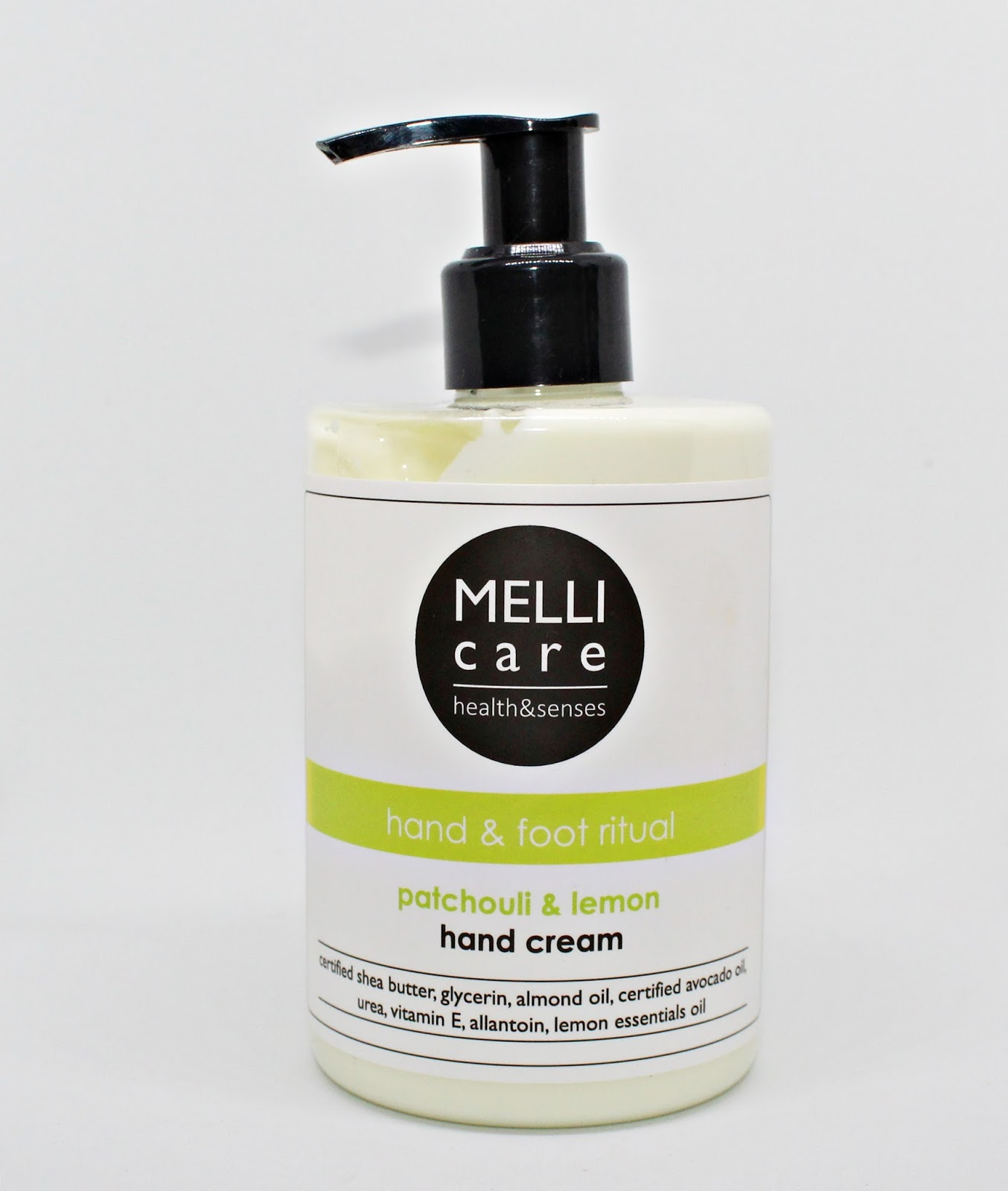 Krem do rąk i stóp PATCHOULI & LEMON - MELLI CARE