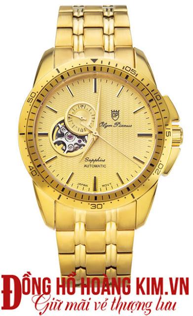 Đồng hồ nam Olym Pianus dây inox đáng mua nhất 2016 tại Cầu Giấy