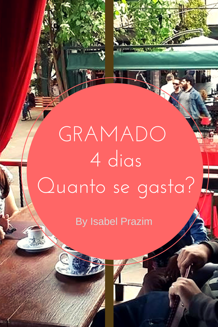 Quanto se gasta em 4 dias em Gramado?
