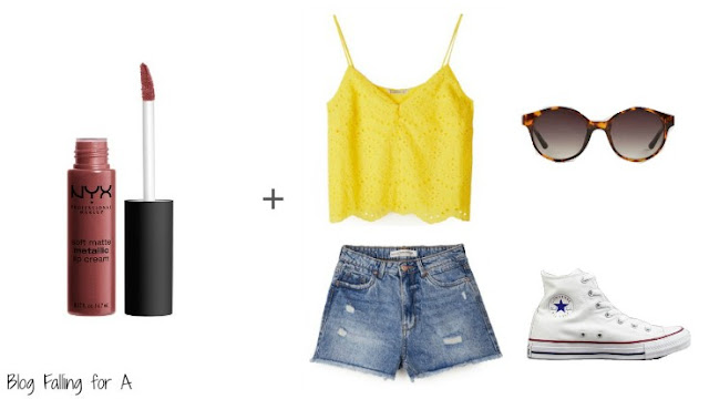 4 OUTFITS + 4 LIPSTICKS (SUMMER IS HERE)