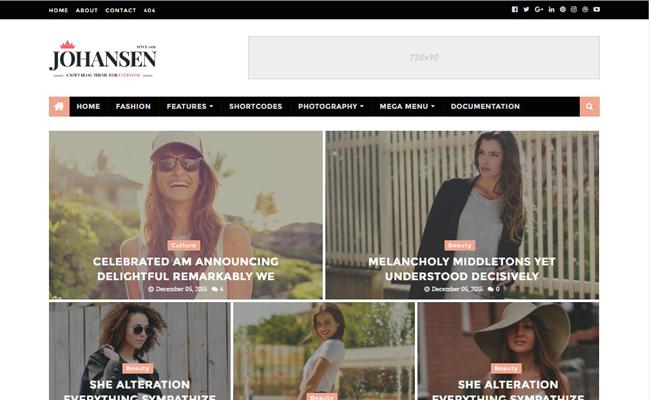 Johansen-responsive-magazine-blogger-template