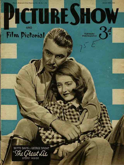Picture Show Bette Davis George Brent 25 October 1941 worldwartwo.filminspector.com