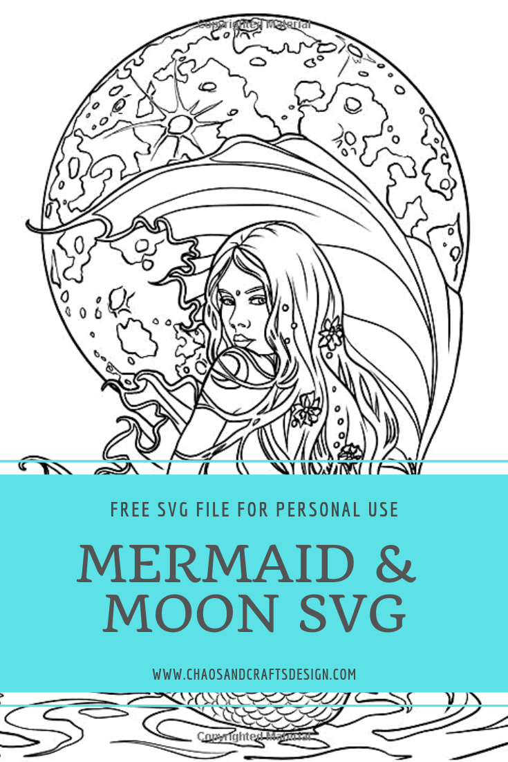 Free Mermaid Mandala Svg : mermaid, mandala, Download, Mermaid, Mandala, Potoshop