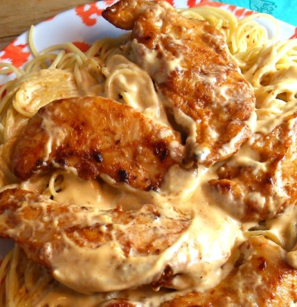 CHICKEN SPAGHETTI RECIPE WITH DELICIOUS SAUCE