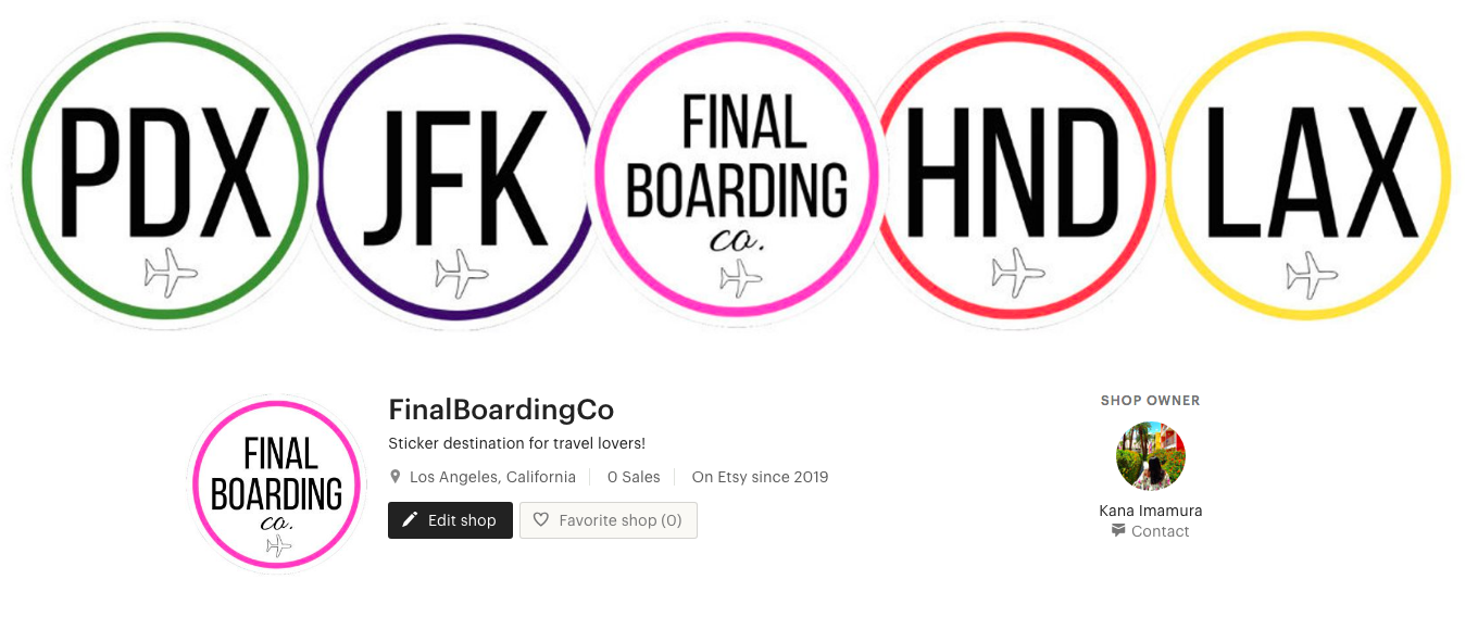 Final Boarding Co Sticker/Decal Shop on Etsy