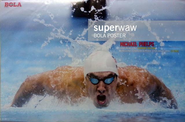 Poster Michael Phelps