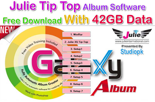 Julie Tip Top Album Software