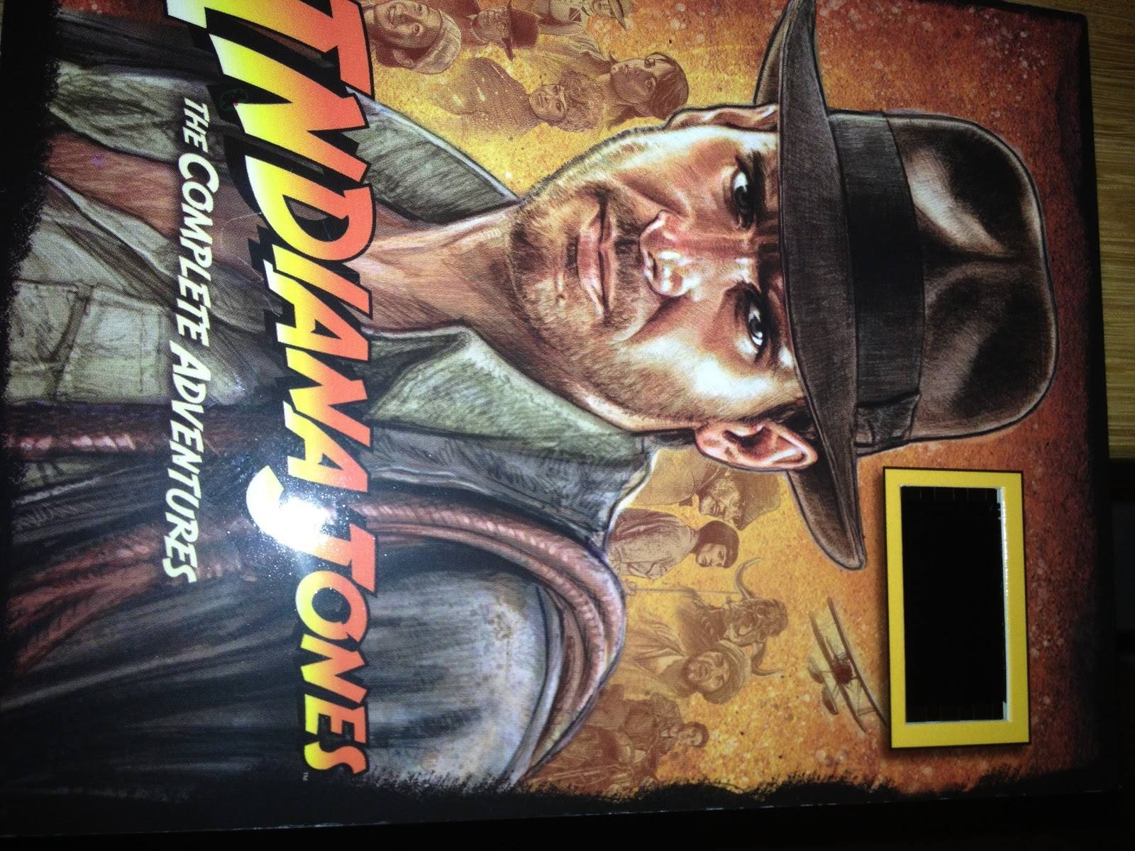 Indiana Jones film cell