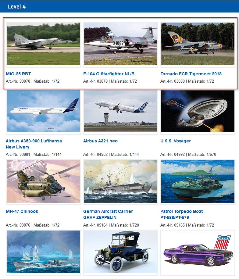Revell:  Now officially for 2019    - 1_72_aircraft_news