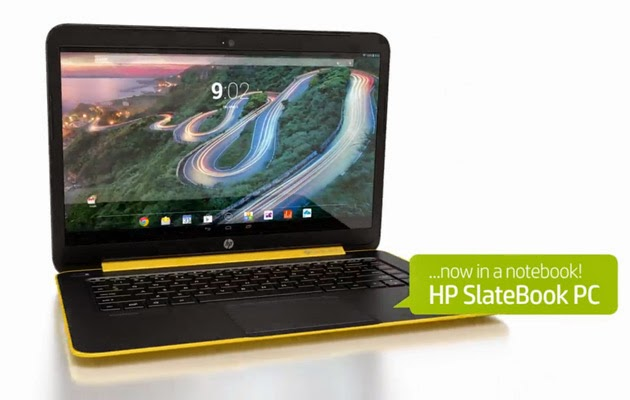 HP SlateBook 14 leaked: the first Android-based notebook