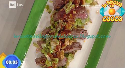 Medaglioni con riduzione di brachetto ricetta Giunta da Prova del Cuoco