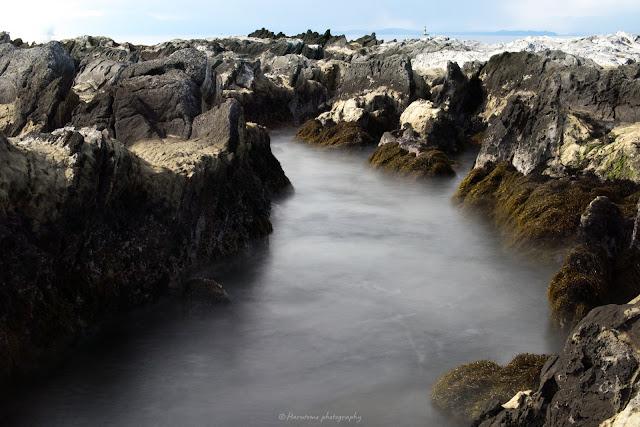 荒崎海岸 長秒撮影