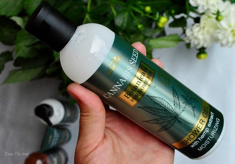 Joanna Botanicals for Home Spa Cannabis Seeds Kremowy żel pod prysznic z Ekstraktem z Konopi  recenzja