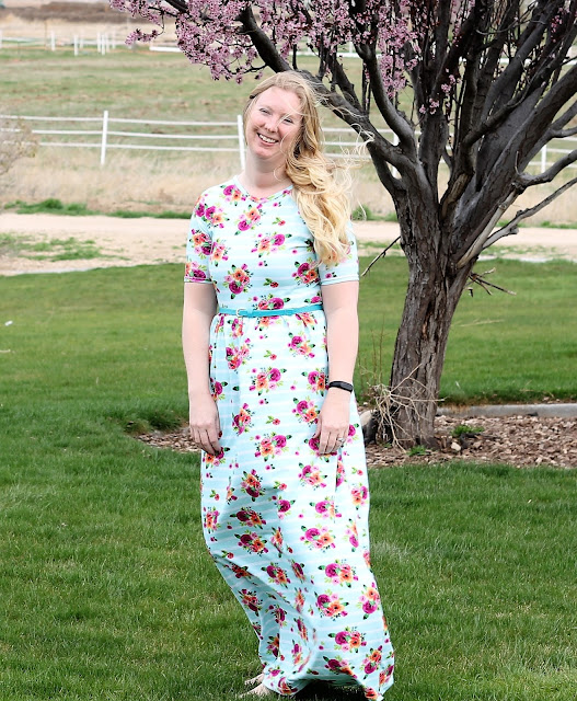 Sew Your Own Woman's Maxi Dress Tutorial