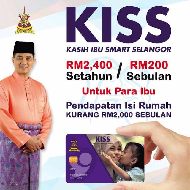 Permohonan Program Kasih Ibu Smart Selangor (KISS) 2018