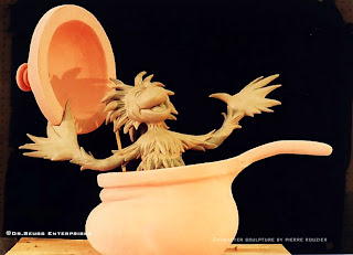 "pierre rouzier_Dr. Seuss Enterprises ""yot in a pot"" sculpture"