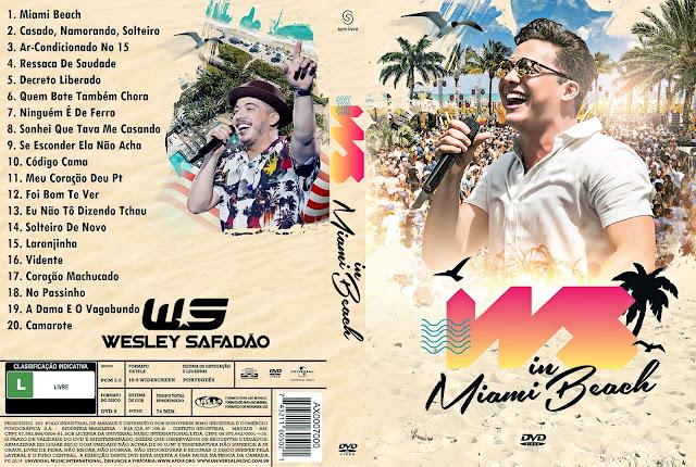 Capa DVD Wesley Safadão: WS in Miami Beach [Custom]