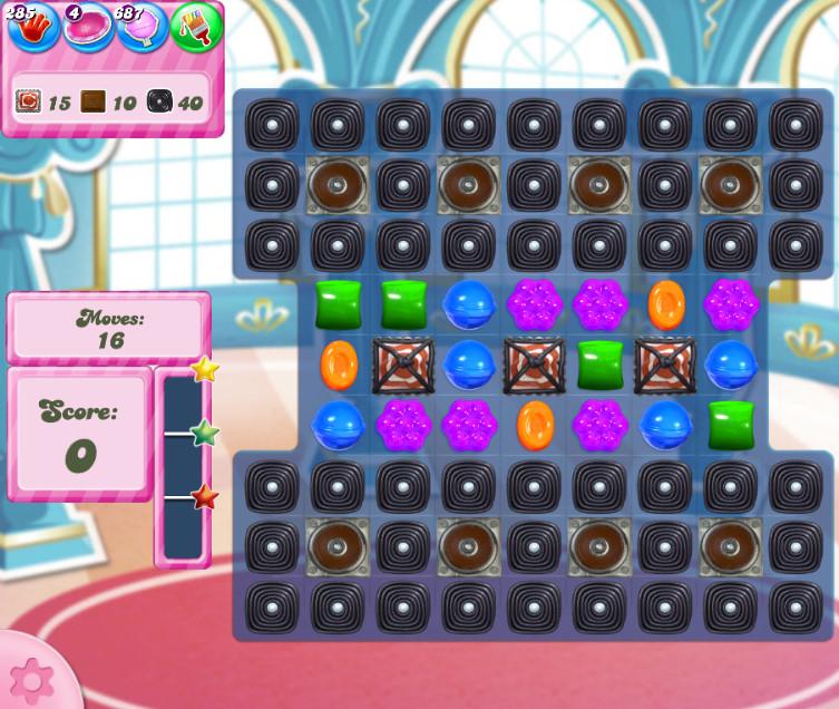 Candy Crush Saga level 2744