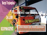 Sedot WC Setro Gading Tambaksari Surabaya