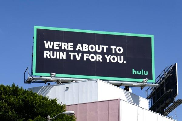 Ruin TV for you Hulu billboard