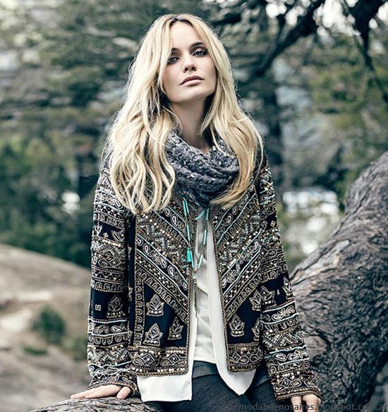 Moda invierno 2016 Mujer. Moda otoño invierno 2016 India Style.