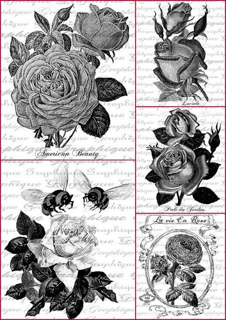 Rosas En Blanco Y Negro Etiquetas Para Imprimir Gratis Oh My Bodas