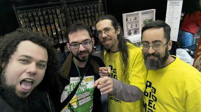 Julio, Alejandro, Pablo y Tellez