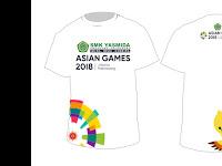 Design Kaos Asian Games 2018 SMK Yasmida