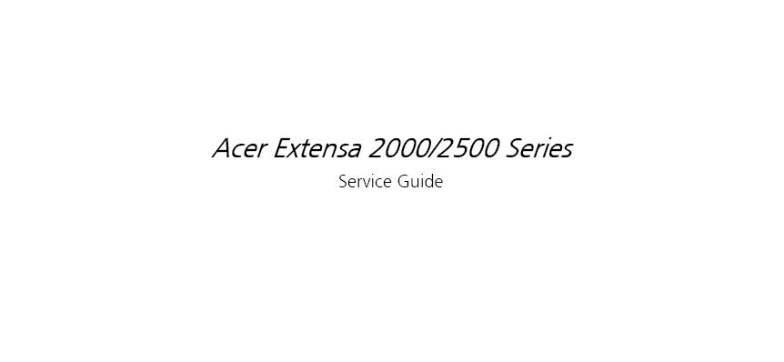 acer extensa 2510 service manual rh chrisevanszeal blogspot com acer extensa 5235 service manual acer extensa 5630 service manual pdf