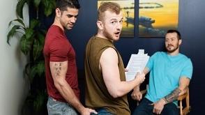 Mark Long, Archer Hart, Jason Richards – Loose Up Audition (Bareback)